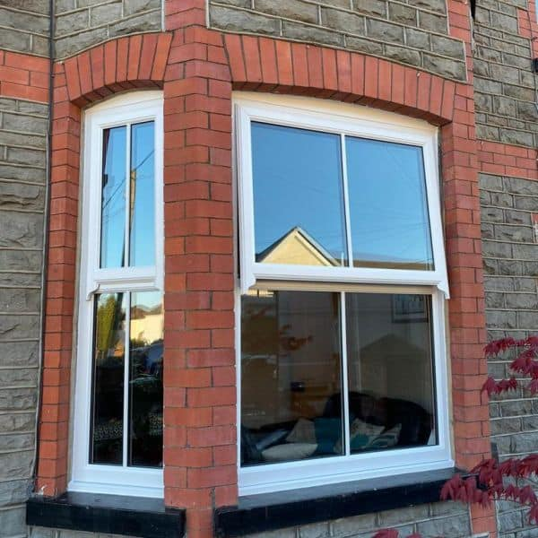 Bay windows in Cardiff South Wales