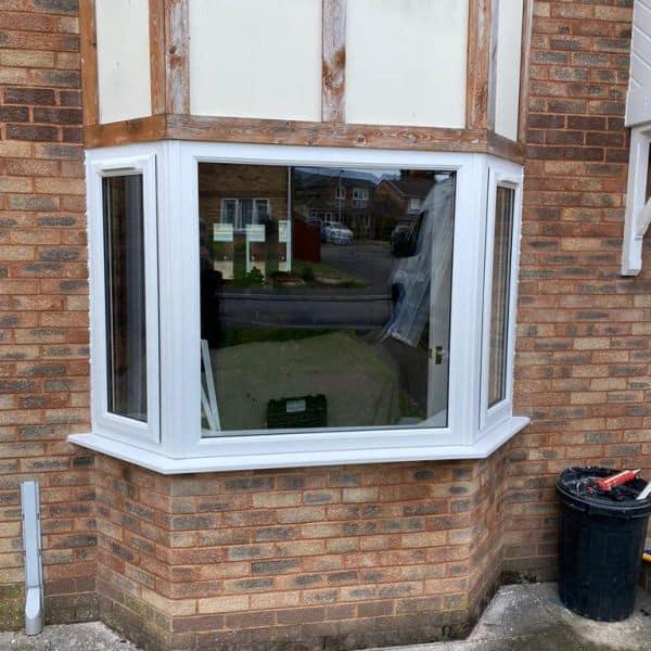 Bay windows Cardiff South Wales