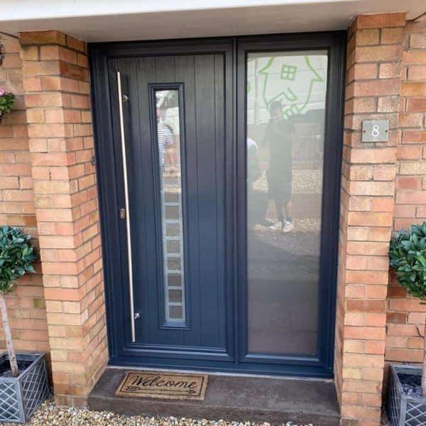 modern front door company Cardiff