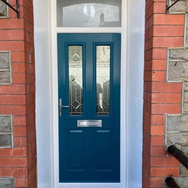 modern front door company in Cardiff