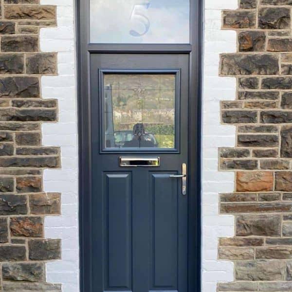 modern composite front door Cardiff