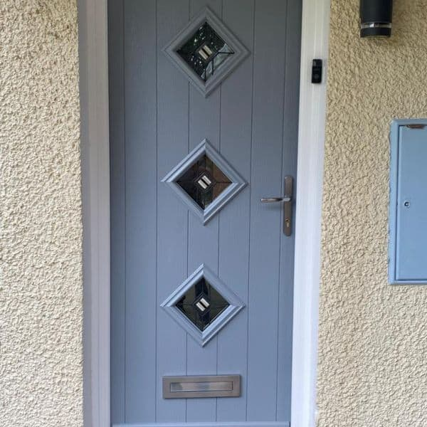 uPVC modern front doors company Cardiff
