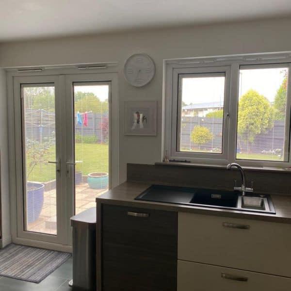 Double glazed french doors finance Cardiff