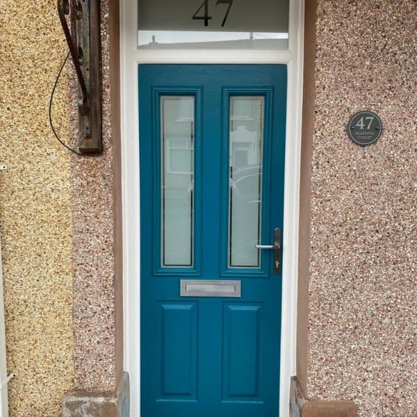 Composite front doors Cardiff - AFTER