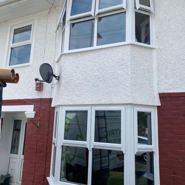 Double glazed bay windows company Cardiff