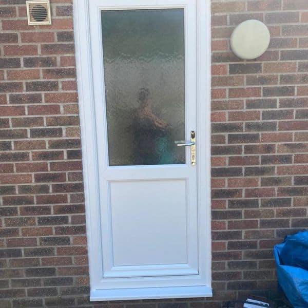 Double glazed back door Cardiff