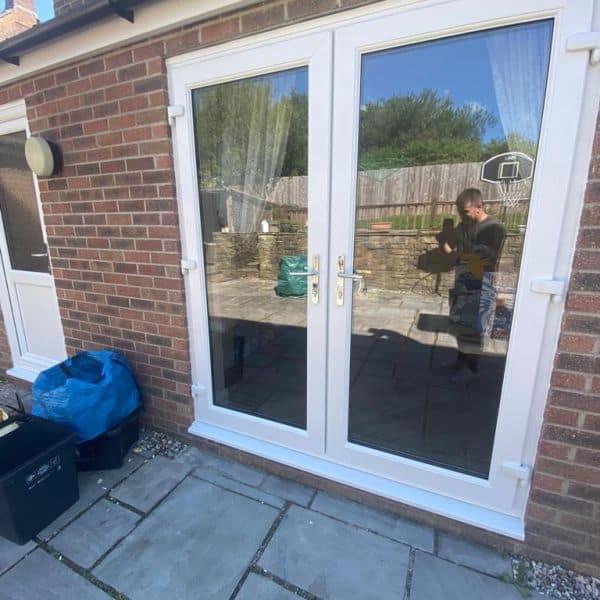 Double glazed patio doors company Cardiff